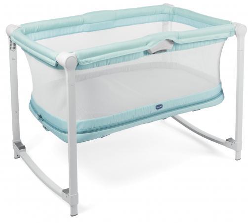 Кроватка-манеж Chicco Zip&Go (aquarelle) кровать манеж chicco open box fruit salad