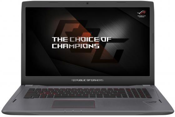 Ноутбук ASUS GL702VM-GC457T 17.3 1920x1080 Intel Core i7-7700HQ 1 Tb 256 Gb 12Gb nVidia GeForce GTX 1060 6144 Мб серебристый Windows 10 Home 90NB0DQ3-M06940 видеокарта asus geforce gtx 1060 1620mhz pci e 3 0 6144mb 8208mhz 192 bit dvi hdmi hdcp rog strix gtx1060 o6g gaming