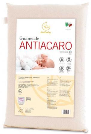 Матрас+подушка Italbaby Antiacaro (белый/030,4200-) italbaby набор для коляски antiacaro подушка матрас