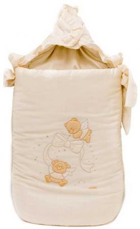 Конверт на молнии 40х80см Italbaby Sweet Angels (крем/730.0081-6) italbaby конверт на молнии italbaby cuoricini