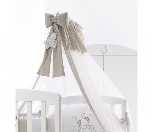 Балдахин тюлевый Italbaby Sweet Star (крем/840,0037-6) балдахин тюлевый круговой italbaby happy family