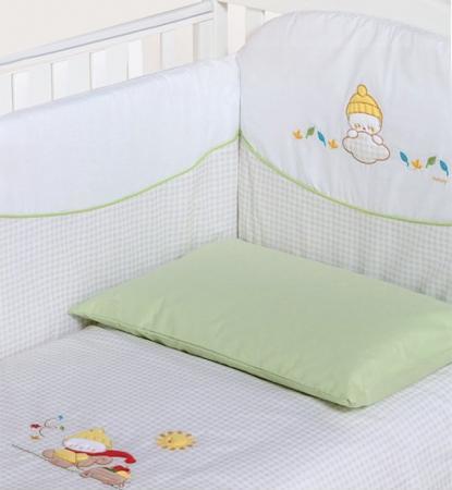 Постельный сет 5 предметов Italbaby Millefogle (бежевый/100.8000-6) постельный сет italbaby teddy крем 100 0019 6