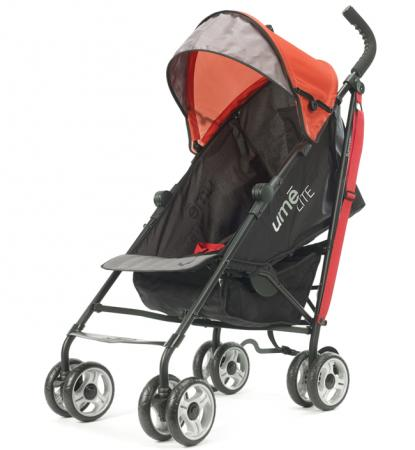 Прогулочная коляска Summer Infant Ume Lite (черно-красный/32086) summer infant bibbity rinse