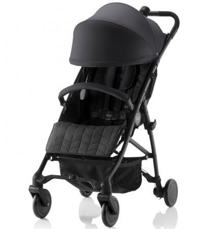 Прогулочная коляска Britax B-Lite (cosmos black) прогулочная коляска для двоих детей britax b agile double cosmos black
