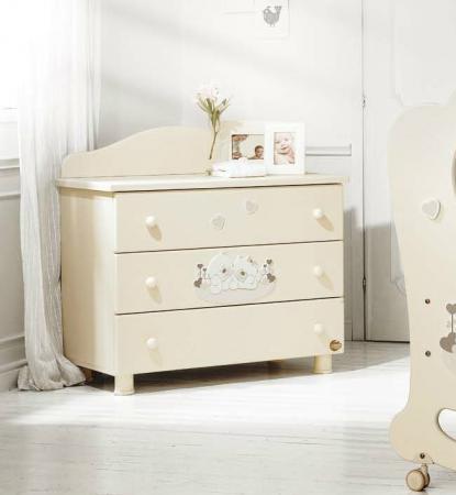 Комод бельевой Baby Expert Sogno (кремовый) baby italia mimi узкий бельевой 6 ящиков