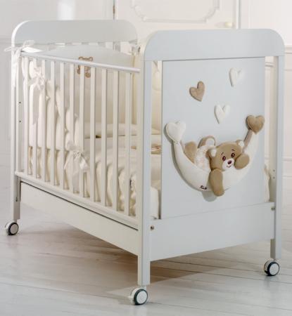 Кроватка Baby Expert Tenerone by Trudi (белый) кровать baby expert кровать baby expert abbracci by trudi крем