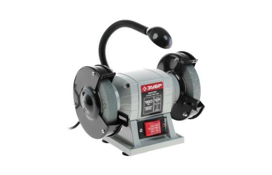 Станок точильный Зубр ЗТШМ-125-150 точильный станок dwt ds 150 ks
