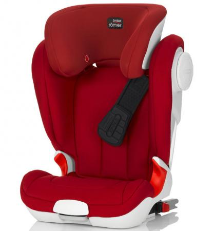 Автокресло Britax Romer Kidfix XP (flame red trendline) quelle b c best connections 112567