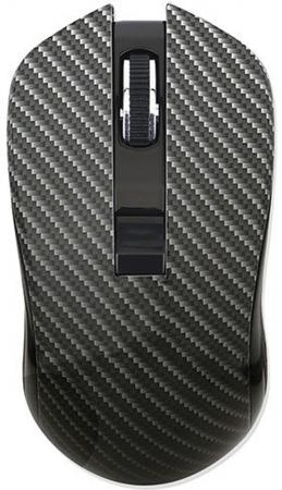 Мышь беспроводная QUMO Kevlar M26 чёрный USB + радиоканал цена и фото