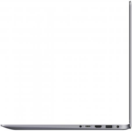 "Ноутбук ASUS VivoBook S15 S510UN-BQ193 15.6"" 1920x1080 Intel Core i3-7100U 1 Tb 6Gb nVidia GeForce MX150 2048 Мб серый Endless OS 90NB0GS5-M02700"