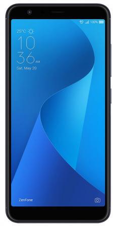 Смартфон ASUS Zenfone Max Plus (M1) ZB570TL черный 5.7 64 Гб LTE Wi-Fi GPS 3G 90AX0181-M00870 смартфон asus zenfone zf3 laser zc551kl золотистый 5 5 32 гб wi fi lte gps 3g 90az01b2 m00050