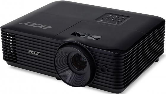 лучшая цена Проектор Acer X128H 1024x768 3600 люмен 20000:1 черный MR.JQ811.001