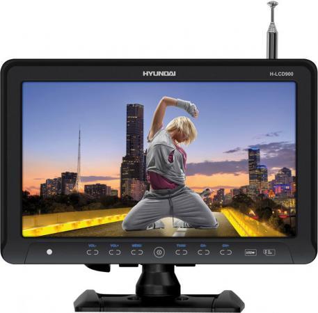 Автомобильный телевизор Hyundai H-LCD900 9 черный автомобильный телевизор hyundai h lcd1000 10 черный