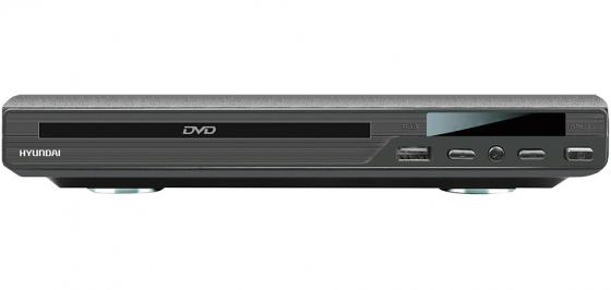 Проигрыватель DVD Hyundai H-DVD160 черный dvd video проигрыватель