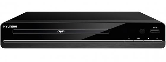 Проигрыватель DVD Hyundai H-DVD180 черный power dvd проигрыватель скачать