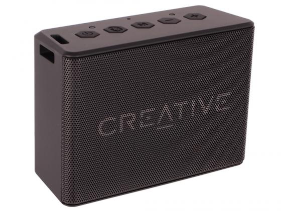 Портативная акустика Creative MUVO 2C черный колонка creative muvo mini black 51mf8200aa000