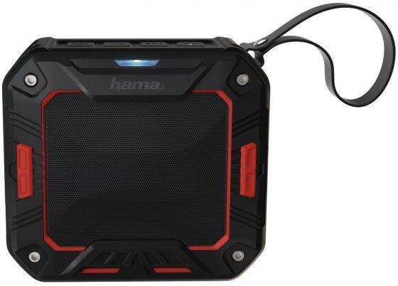 Портативная акустика Hama Rockman-S черный/красный 00173107 портативная акустика digma s 31 черный