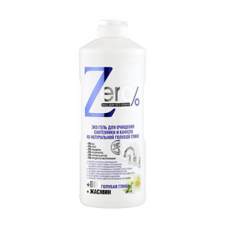 ZERO Гель для очищения сантехники и кафеля 500мл organic people эко спрей для сантехники и кафеля 500мл