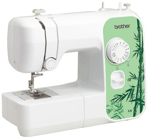 Швейная машина Brother X-8 белый/зеленый швейная машина brother x 4 белый