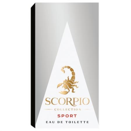 Антиперспирант Scorpio Sport 150 мл цитрусовый 2121925 red scorpio 77