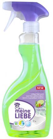 Чистящее средство Meine Liebe ML34107 для чистки акриловых ванн и душевых кабин 500мл жидкое средство для стирки meine liebe ml31102