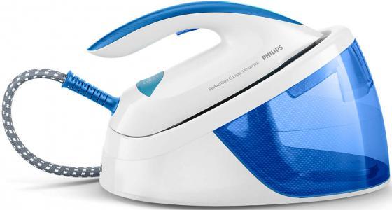 Парогенератор Philips GC6804/20 2400Вт белый синий парогенератор philips gc9545 02