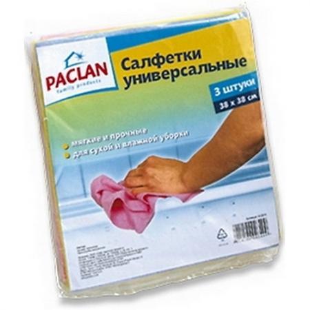 PACLAN Салфетки для чистки Practi нетканное полотно 38*38см 3шт