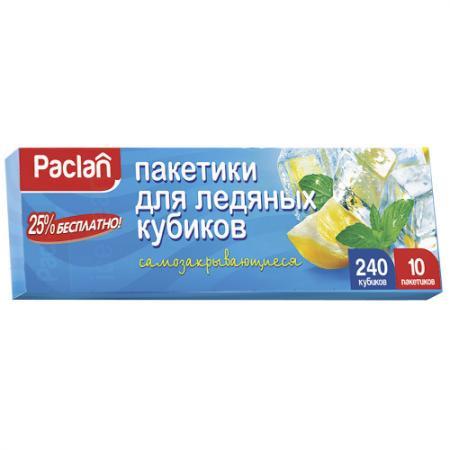 PACLAN Мешочки для льда кубики 10х24шт аппликатор этикеток 65 30 apn 30