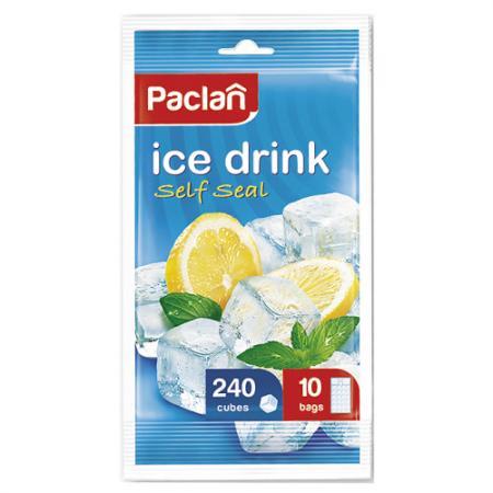 PACLAN Мешочки для приготовления ледяных кубиков 10*24шт от Just.ru