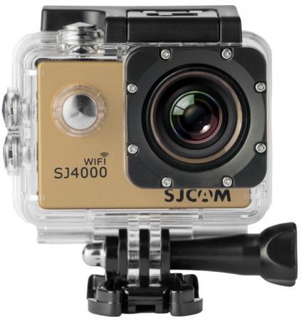 Экшн-камера SJCAM SJ4000 Wi-Fi 1xCMOS 3Mpix золотистый от Just.ru
