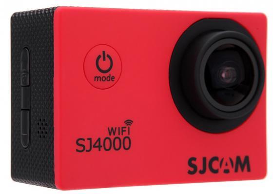 все цены на Экшн-камера SJCAM SJ4000 Wi-Fi 1xCMOS 3Mpix красный онлайн