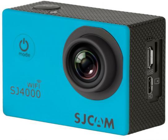 Экшн-камера SJCAM SJ4000 Wi-Fi 1xCMOS 3Mpix синий от Just.ru