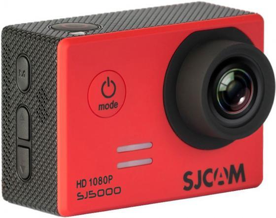 Экшн-камера SJCAM SJ5000 1xCMOS 14Mpix красный от Just.ru