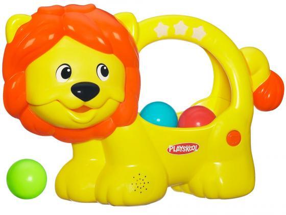 Интерактивная игрушка Hasbro Playskool Веселый Львенок от 9 месяцев жёлтый 98694H неисправное оборудование от Just.ru