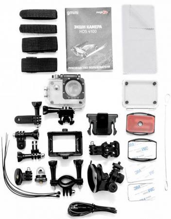 Экшн-камера Gmini MagicEye HDS4100 серебристый от Just.ru