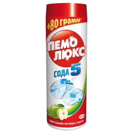 ПЕМОЛЮКС СОДА ЭФФЕКТ Средство чистящее Яблоко 480г