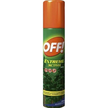 OFF! спрей от комаров и клещей Экстрим 100 мл