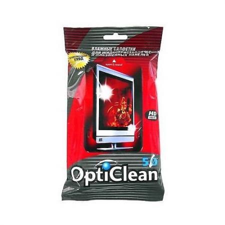 OPTICLEAN Салфетки влажные для плазмы 50шт амлодипин таб 10мг 30