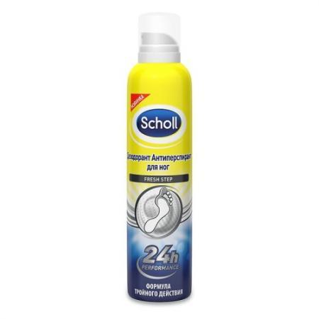 SCHOLL Дезодорант антиперспирант для ног 3 в 1 Odour Control Neutra-Activ 150мл антиперспирант maxim dabomatic 30% дезодорант максим