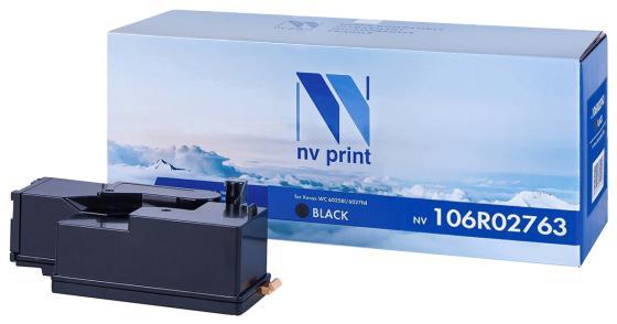 Фото - Картридж NV-Print 106R02763 для Xerox Phaser 6020 Phaser 6022 WorkCentre 6025 WorkCentre 6027 2000стр Черный картридж nv print 106r01371 для xerox phaser 3600 14000стр черный