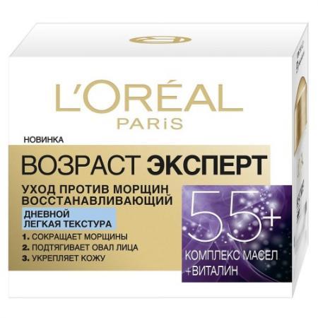 Крем для лица LOreal Paris Возраст эксперт 50 мл дневной A9277800 крем для лица loreal paris эксперт увлажнение 50 мл 24 часа