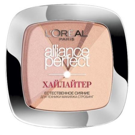 LOREAL ALLIANCE PERFECT Хайлайтер тон 202N розовый