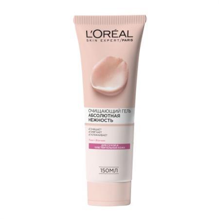 LOREAL DERMO-EXPERTISE Гель для сухой и чувствительной кожи Абсолютная нежность 150 мл