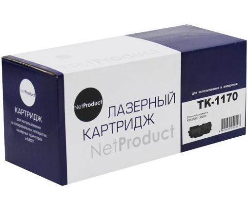 Картридж NetProduct TK-1170 для Kyocera ECOSYS M2040dn/M2540dn/M2640idw 7200стр