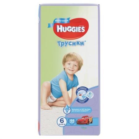 где купить HUGGIES Подгузники-трусики Annapurna Размер 6 16-22кг 44шт для мальчиков по лучшей цене