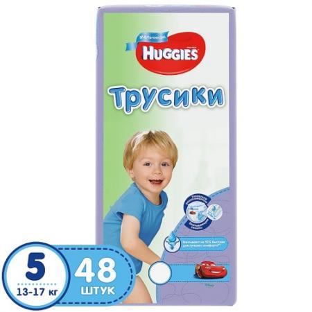 HUGGIES Подгузники-трусики Литтл Волкерс Размер 5 13-17кг 48шт для мальчиков цена