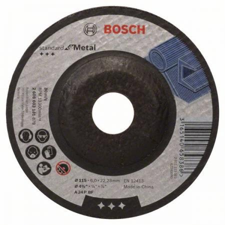 Обдирочный круг Bosch 115х6мм 2608603181 smeg scv 115