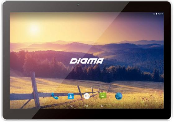 Планшет Digma Plane 1524 3G 10.1 16Gb серебристый Wi-Fi Bluetooth 3G Android PS1138MG 496758 планшет digma plane 1601 3g 1gb 8gb 3g android 5 1 белый [ps1060mg]