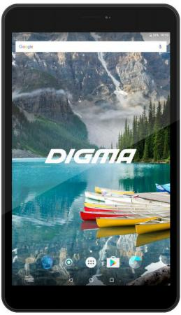 Планшет Digma Plane 8558 4G 8 16Gb черный LTE Wi-Fi Bluetooth 3G Android PS8172PL планшет supra m84d 8 16gb черный wi fi 3g bluetooth android m84d