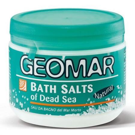 GEOMAR Соль Мертвого моря для принятия ванн 500г geomar молочко для тела geomar fluida corpo geomar 300 мл